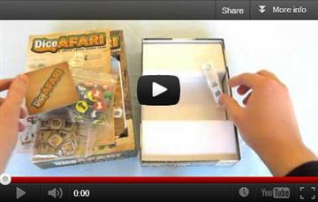 DiceAFARI unboxing video
