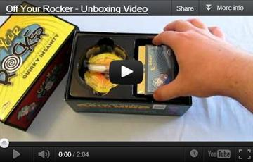 Off Your Rocker unboxing video